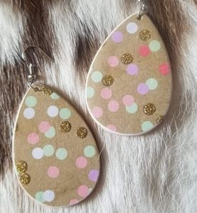 Handcrafted Dot Earrings